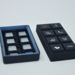 Molded Rubber with Light Blocks