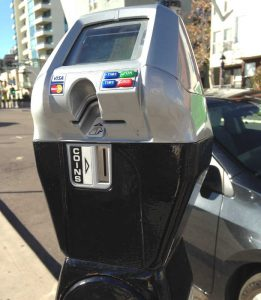 Waterproof tactile keypad for Parking Meters