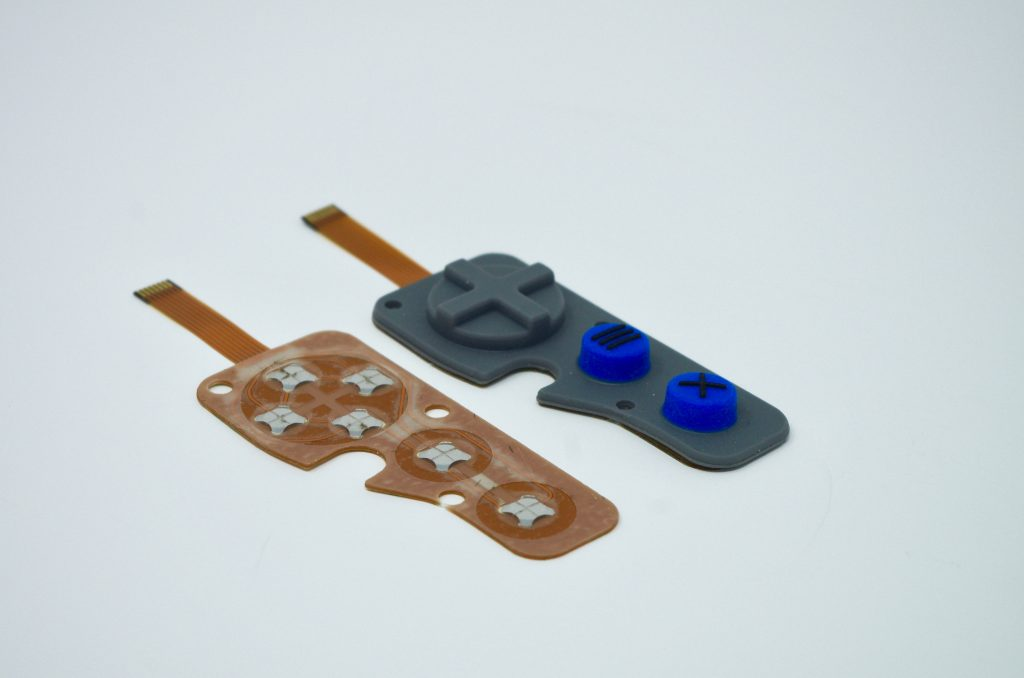IP67 Rubber Membrane Switch