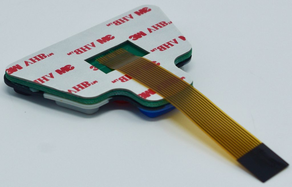 Hot Bar Soldered Membrane Switch