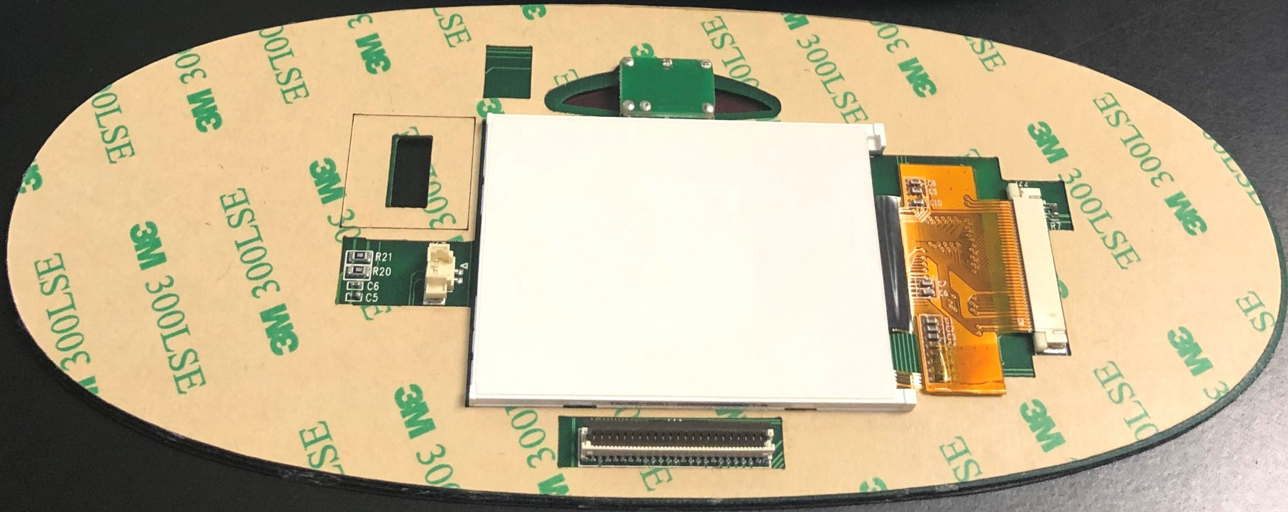 Full Turnkey Membrane Switch HMI Assembly