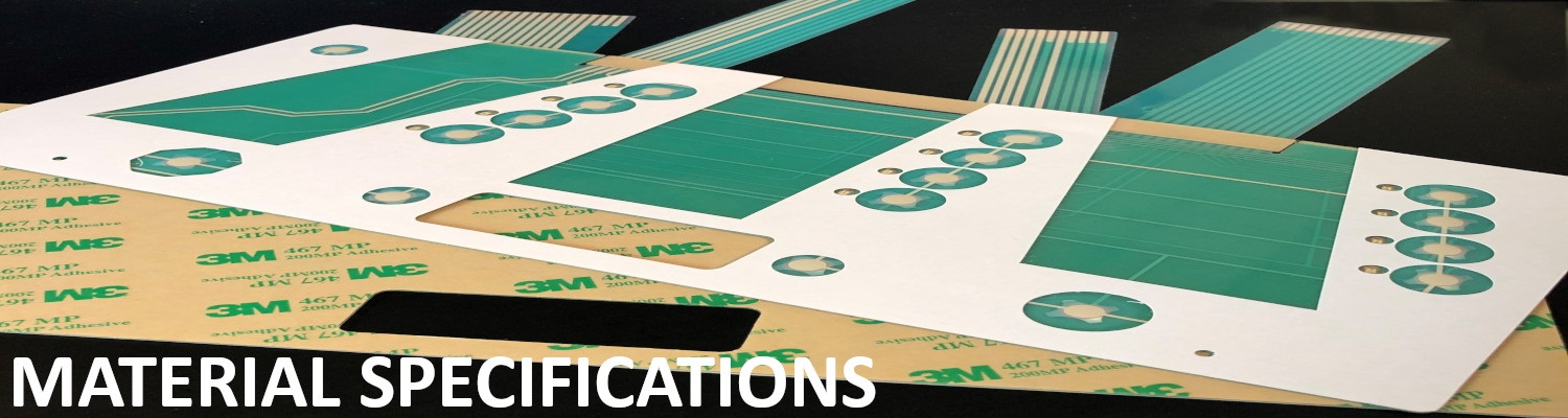 Membrane Switch Material Specifications